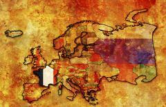 France Stock Illustration