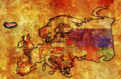 Iceland Stock Illustration