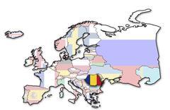 Romania Stock Illustration