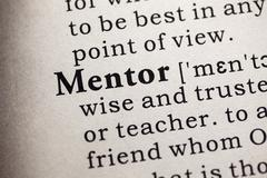 Mentor Stock Illustration