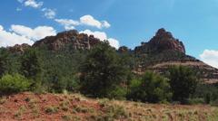 Huckaby Trail Area Rocky Mountain- Sedona Arizona Stock Footage