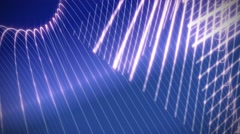 Vector lines abstract motion background Stock Footage