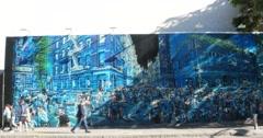 Street Art in Manhattan New York City 4K Stock Video Stock Footage