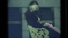 1968: waving on a float in the parade. MISSOURI Stock Footage