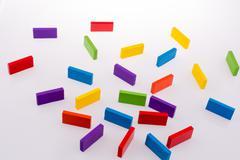Color Dominoes Kuvituskuvat