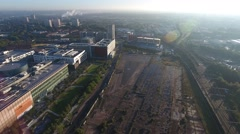 Development area in Birmingham city centre. Stock Footage