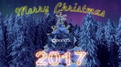 Christmas & New Year 2017 Short Project Stock After Effects