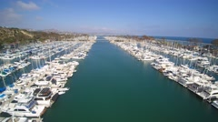 Dana Point Harbor Stock Footage