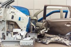 Wide range of spare car parts. damage crash Kuvituskuvat