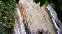 Koh Luang waterfall. Stock Footage