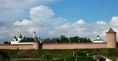The Spaso-evfimiev monastery is seen in all its glory and power. Stock Footage