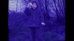 1966: family enjoying the outdoors NEW JERSEY Stock Footage
