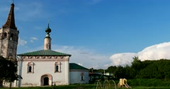 The Church of St. Nicholas, Suzdal - Russia's cultural heritage Stock Footage