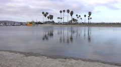 Mission Bay in San Diego, California. Stock Footage