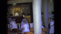 1966: first communions OHIO Stock Footage