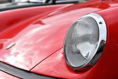 Red Porsche vintage car Kuvituskuvat
