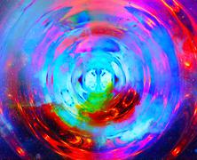 Cosmic space and stars, color cosmic abstract background Stock Illustration