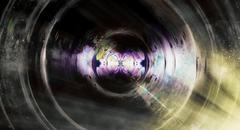 Audio music speaker in space. Cosmic space and stars, abstract cosmic background Stock Illustration