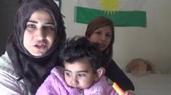 Syria, Kobani - October, 2016: Kamishlo emigrant story Arkistovideo