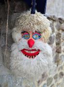 Pagan dacian mask Stock Photos