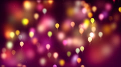 HD Loopable Background with nice abstract flying balloons Stock Footage