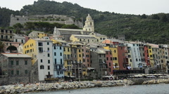 Porto Venere, Liguria, Italy Stock Footage