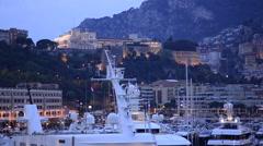 Traveling in Monte Carlo, Monaco, Europe. Stock Footage
