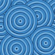 Abstract Aboriginal line painting in vector format. Piirros