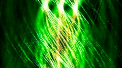 HD Loopable Background with nice abstract green spiral Stock Footage