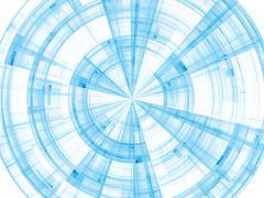 Acceleration of Burst Rotation Stock Illustration