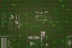Grid of information - digital technology - numbers shifting - whites symbols  Stock Footage