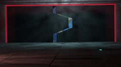 4K Alien Starship Gates Opening Revealing The Earth 1 Arkistovideo