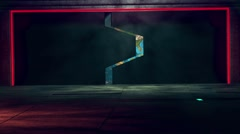 4K Alien Starship Gates Opening Revealing The Earth 2 Arkistovideo