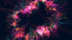 Galaxy Milky Way Animation Stock Footage