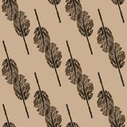 Pattern trees for decorative Stock Illustration