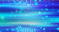 HD Loopable Background with nice abstract sci fi retro tunnel Stock Footage