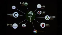 Info Graphics About Environment Global Warming Stock Footage