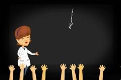 Lungs - Projector Class - Cartoon 01 Stock Footage