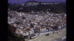 1972: community by beach PORTUGAL Stock Footage