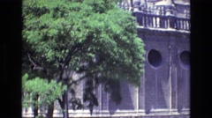 1972: old concrete building SPAIN Stock Footage