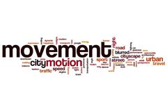 Movement word cloud Piirros