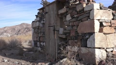 SILVER and lead furnace at Owens Lake, California Stock Footage