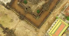 Wat Nokor Temple Stock Footage