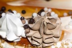 Vanilla Cake with Decorations Kuvituskuvat