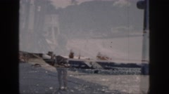 1961: discovering beautiful places and taking good vacations with all the family Stock Footage
