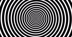 Swirling hypnotic spiral-4-01-na2 Stock Footage