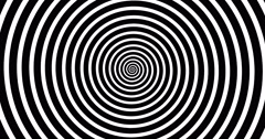 Swirling hypnotic spiral-4-01-na1 Stock Footage