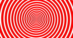 Swirling hypnotic spiral-4-02-na3 Stock Footage