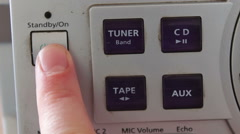 Buttons on a Tape Recorder Arkistovideo