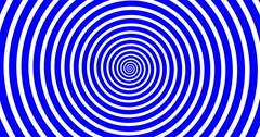 Swirling hypnotic spiral-4-03-na1 Stock Footage